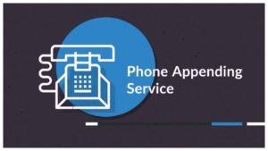 Phone Appending Service - Mails Global Services